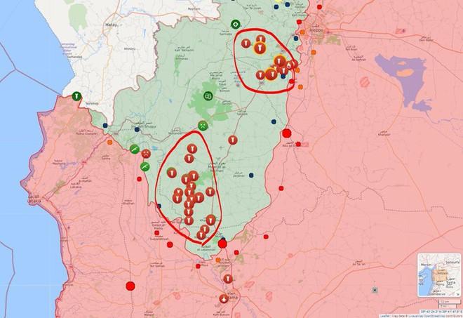Nga bủa lưới, phóng lao: Phiến quân, Thổ Nhĩ Kỳ và phương Tây như cá trên thớt ở Hama - Ảnh 5.