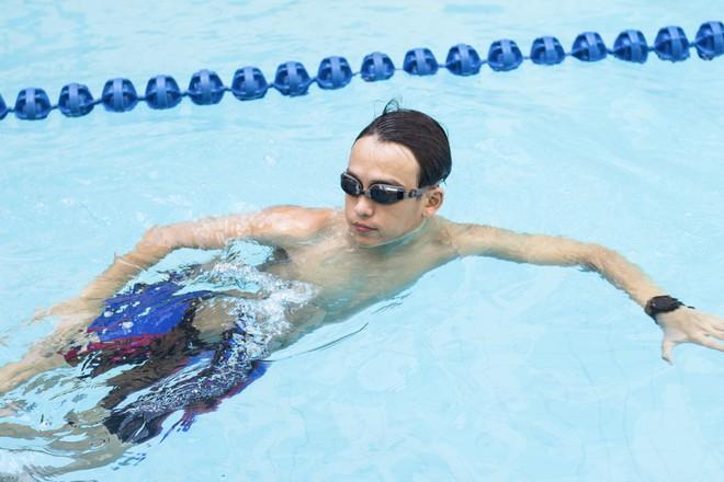 MC Quang Bảo bơi 100km để gây quỹ từ thiện - Ảnh 5.