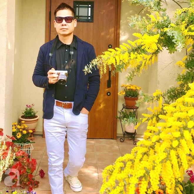 Khu vườn hoa hồng trước nhà đẹp như cổ tích của người đàn ông Việt ở Nhật - Ảnh 5.