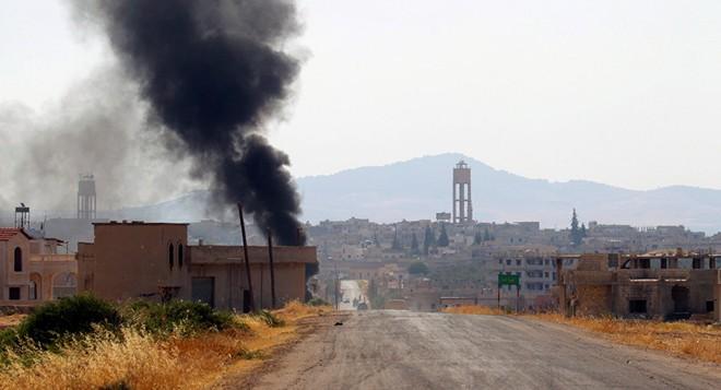 Thổ Nhĩ Kỳ bắn rơi máy bay trinh sát ở Idlib, Syria - KQ Nga rầm rập trút bão lửa - Ảnh 7.