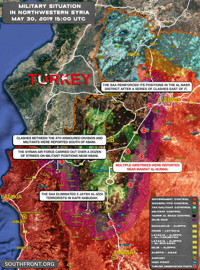 Thổ Nhĩ Kỳ bắn rơi máy bay trinh sát ở Idlib, Syria - KQ Nga rầm rập trút bão lửa - Ảnh 4.