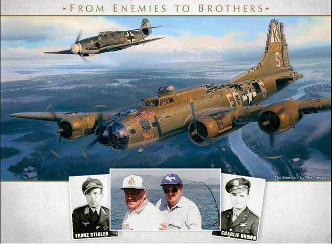 Thấy máy bay của địch bốc khói, phi công Đức bám theo và làm 1 việc không ai có thể ngờ - Ảnh 5.