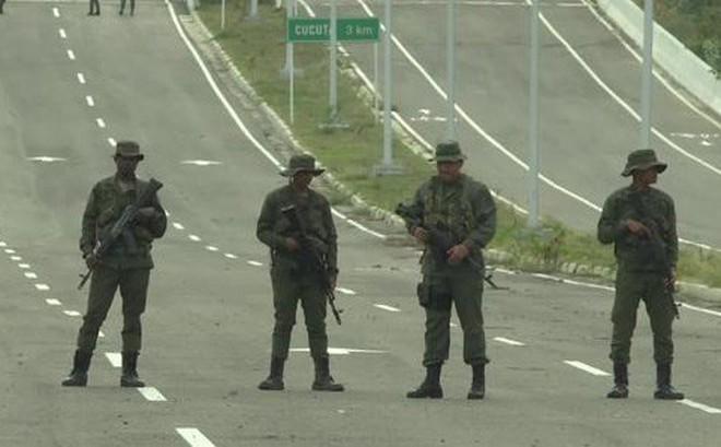 Đấu súng dữ dội dọc biên giới Venezuela - Colombia: Đảo chính quân sự lên cấp độ mới?
