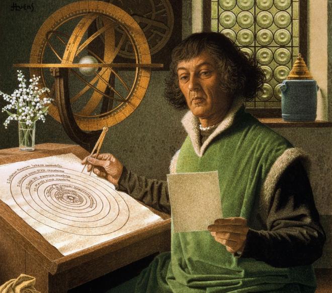 Nicolaus Copernicus: Sự ra đời của thuyết nhật tâm - Ảnh 1.