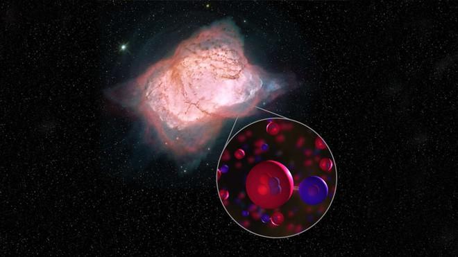 Phát hiện loại phân tử đầu tiên hình thành trong vũ trụ - Ảnh 1.