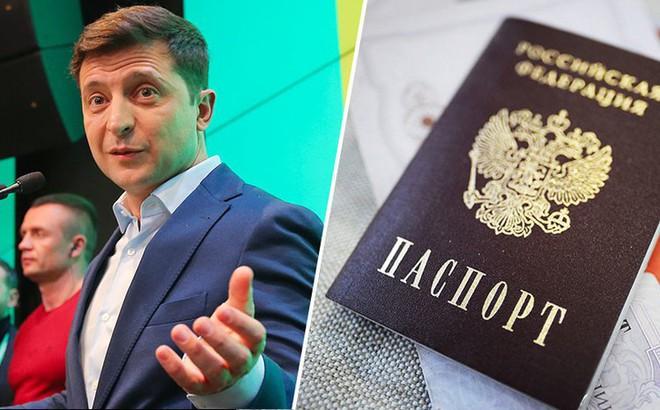 """Tranh cãi về chuyện hộ chiếu, tân TT Ukraine tuyên bố sẽ ra đòn đáp trả """"sáng tạo"""": Ông Putin, hãy đợi đấy!"""