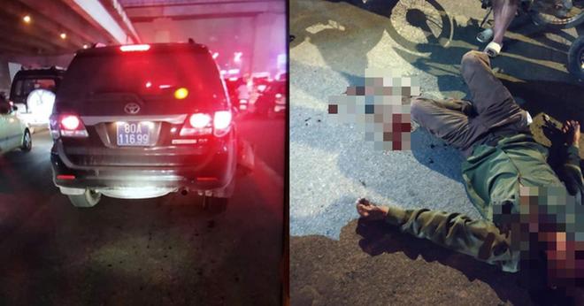 Xe đeo biển xanh 80A gây tai nạn rồi bỏ chạy ở Hà Nội không có trong dữ liệu đăng kiểm - Ảnh 1.