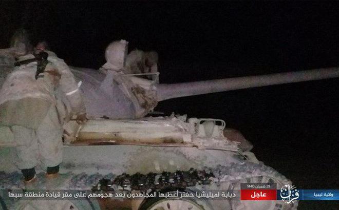 IS bất ngờ tấn công Quân đội Quốc gia Libya (LNA)
