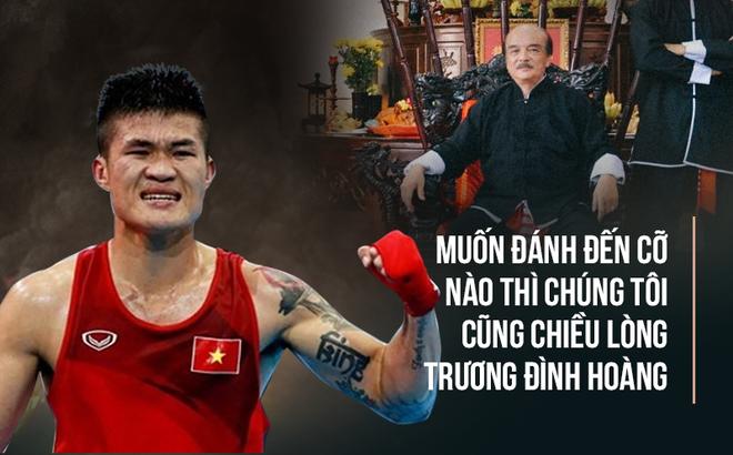Tổng đàn chủ Vịnh Xuân Nam Anh lên tiếng về kịch bản thay Flores đấu Trương Đình Hoàng