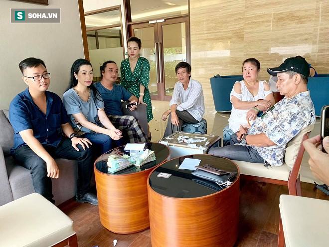 Trịnh Kim Chi: Gần 300 triệu tiền phúng viếng được làm từ thiện theo di nguyện của nghệ sĩ Lê Bình - Ảnh 1.