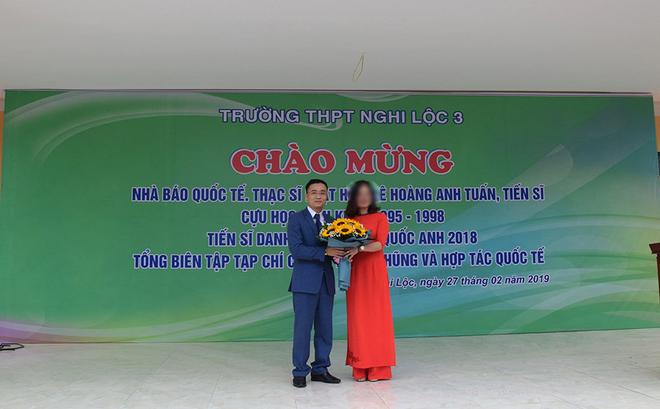 """Ông Lê Hoàng Anh Tuấn, người xưng """"nhà báo quốc tế"""" là Hội viên Hội Nhà báo Việt Nam"""