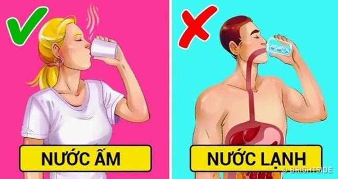 Uống nước đá lạnh mùa nắng nóng có thể làm chậm nhịp tim - Ảnh 1.