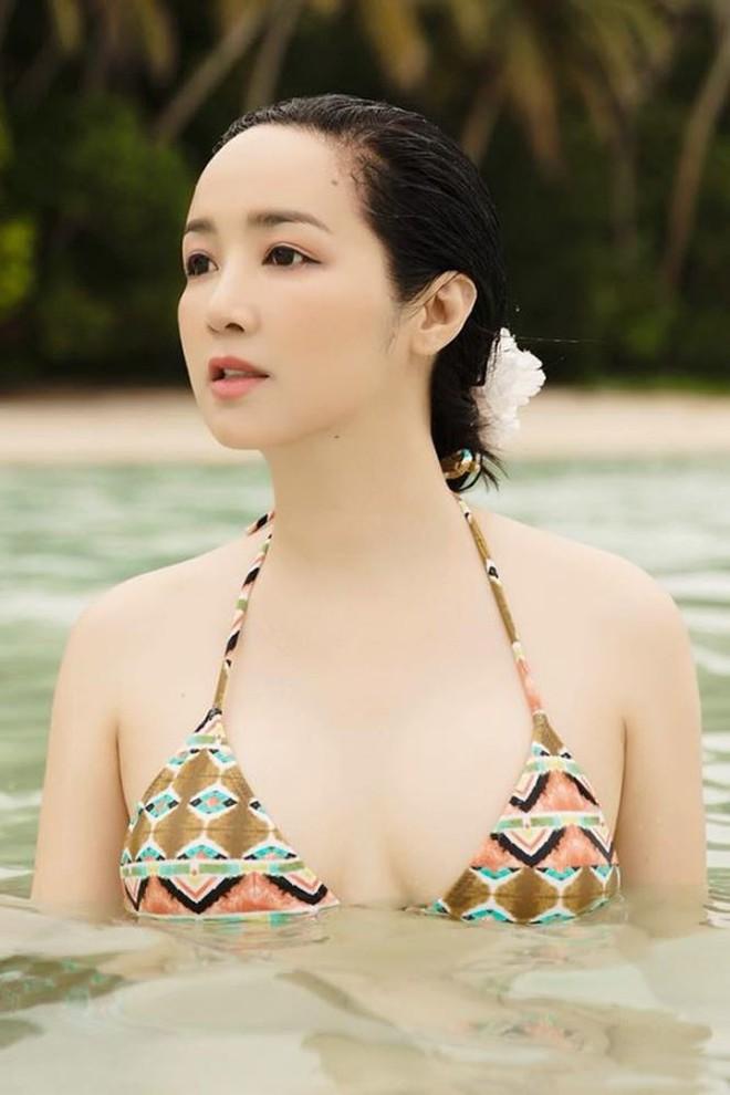 Nhan sắc nóng bỏng, bất chấp tuổi tác của Hoa hậu Giáng My - Ảnh 4.