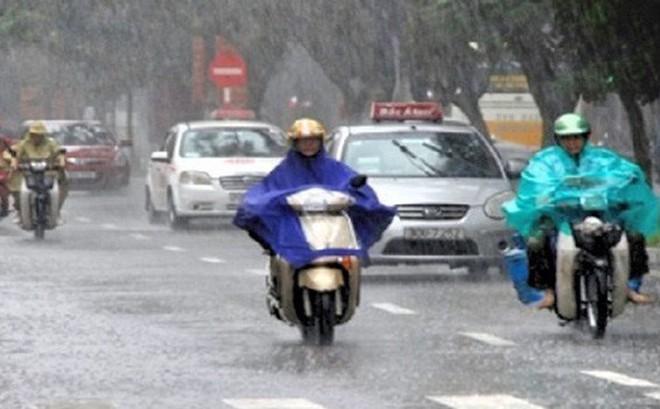 Thời tiết hôm nay: Bắc bộ mưa dông, miền Trung nắng nóng
