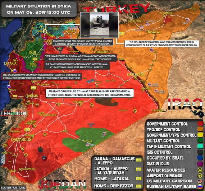 Chiến sự Syria cực nóng, KQ Nga bị tấn công dữ dội - Phiến quân thiệt hại nặng - Ảnh 12.