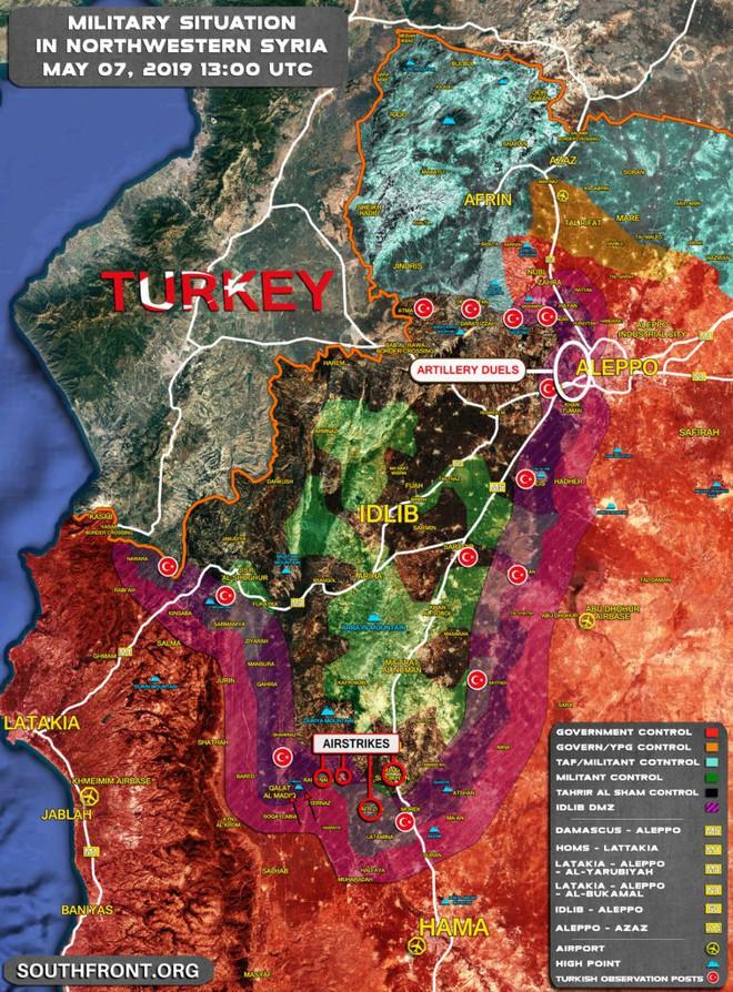 Chiến sự Syria cực nóng, KQ Nga bị tấn công dữ dội - Phiến quân thiệt hại nặng - Ảnh 5.