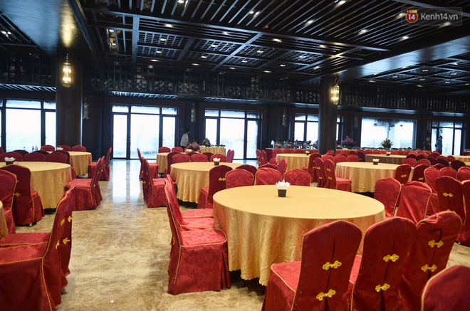 Cảnh hoành tráng của khu trung tâm hội nghị quốc tế tại chùa Tam Chúc - nơi diễn ra đại lễ Vesak Liên Hợp Quốc 2019 - Ảnh 13.