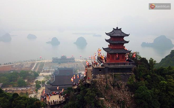 Cảnh hoành tráng của khu trung tâm hội nghị quốc tế tại chùa Tam Chúc - nơi diễn ra đại lễ Vesak Liên Hợp Quốc 2019 - Ảnh 17.
