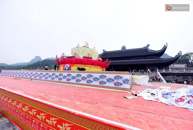 Cảnh hoành tráng của khu trung tâm hội nghị quốc tế tại chùa Tam Chúc - nơi diễn ra đại lễ Vesak Liên Hợp Quốc 2019 - Ảnh 18.