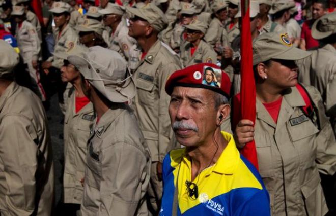 Chuyên gia lật đổ CIA đã can thiệp vào cuộc đảo chính quân sự ở Venezuela như thế nào? - Ảnh 1.