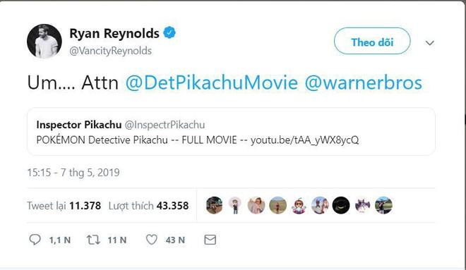 Thám tử Pikachu lộ đoạn phim dài 2 tiếng khiến khán giả thích thú - Ảnh 1.