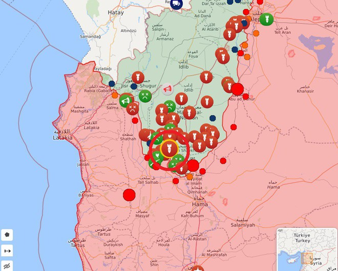 Rocket bay như mưa tấn công KQ Nga ở Syria - Bắn hạ toàn bộ - Ảnh 5.