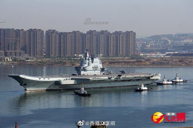 Biểu hiện bất thường cực kỳ đáng chú ý trên tàu sân bay mới nhất của Trung Quốc - Ảnh 2.