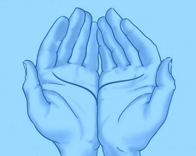 Đặt 2 lòng bàn tay cạnh nhau, bói đường chỉ tay, luận giải tình duyên - Ảnh 4.