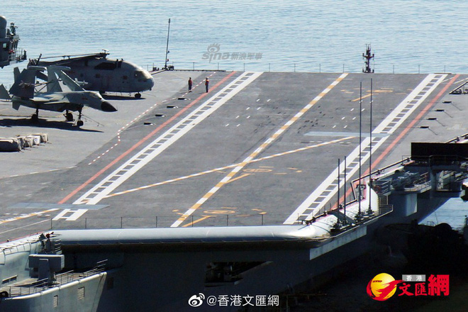 Biểu hiện bất thường cực kỳ đáng chú ý trên tàu sân bay mới nhất của Trung Quốc - Ảnh 1.