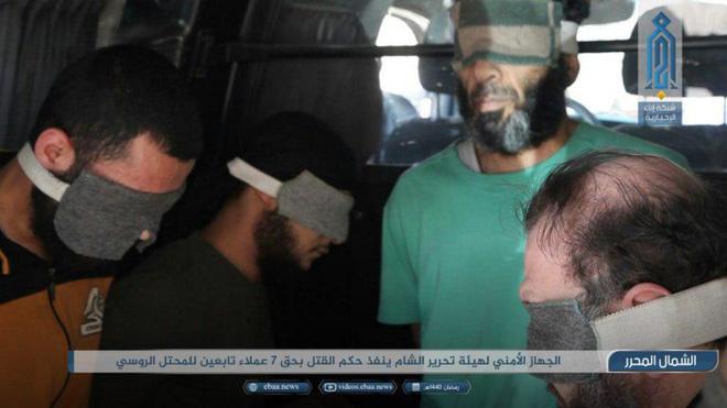 Khủng bố Syria xử tử 7 điệp viên Nga? - Ảnh 1.