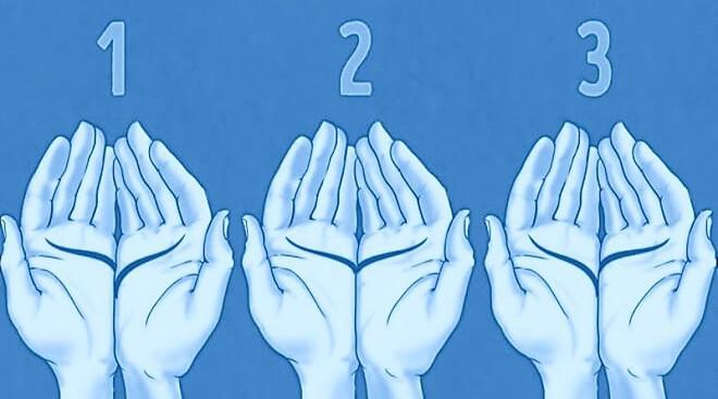 Đặt 2 lòng bàn tay cạnh nhau, bói đường chỉ tay, luận giải tình duyên - Ảnh 1.