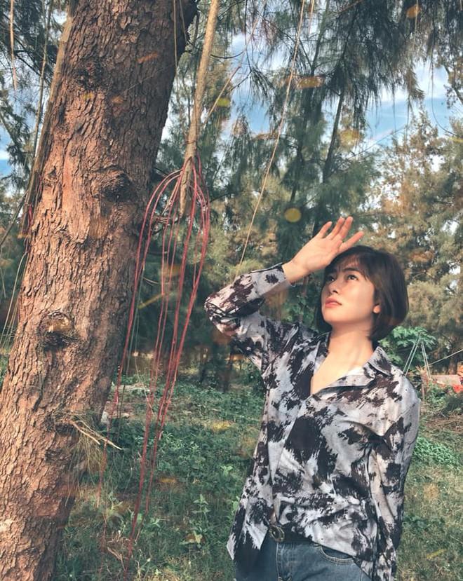 Nhan sắc nữ thiếu úy công an bị Việt Sói bắt cóc, đánh bầm dập trong phim Mê cung - Ảnh 11.