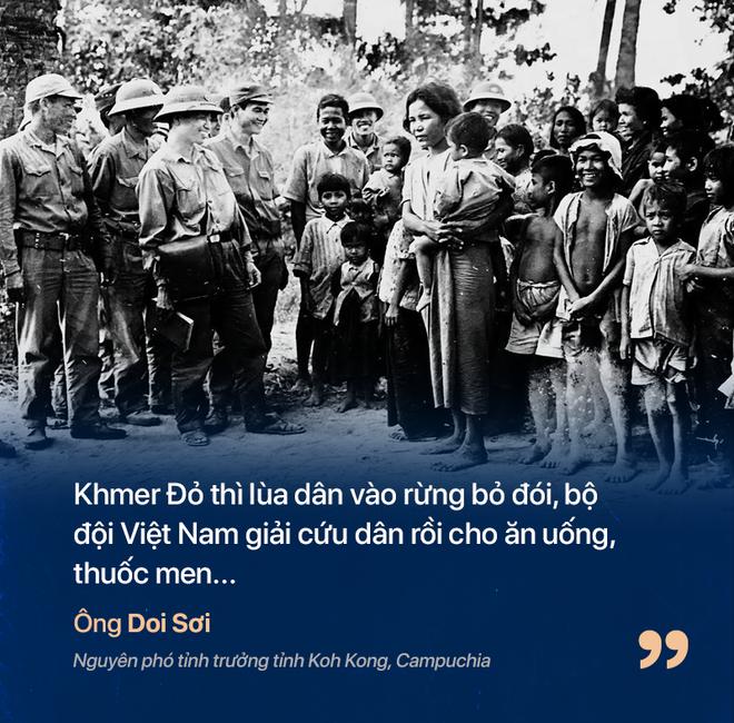 Chiến tranh biên giới Tây Nam: Khmer Đỏ thì lùa dân vào rừng bỏ đói, bộ đội Việt Nam giải cứu dân rồi cho ăn uống - Ảnh 2.