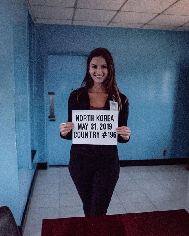 Cô gái trẻ nhất du lịch vòng quanh Trái Đất: Mới 21 tuổi đã đi qua 196 quốc gia, sắp phá vỡ kỷ lục Guinness - Ảnh 2.