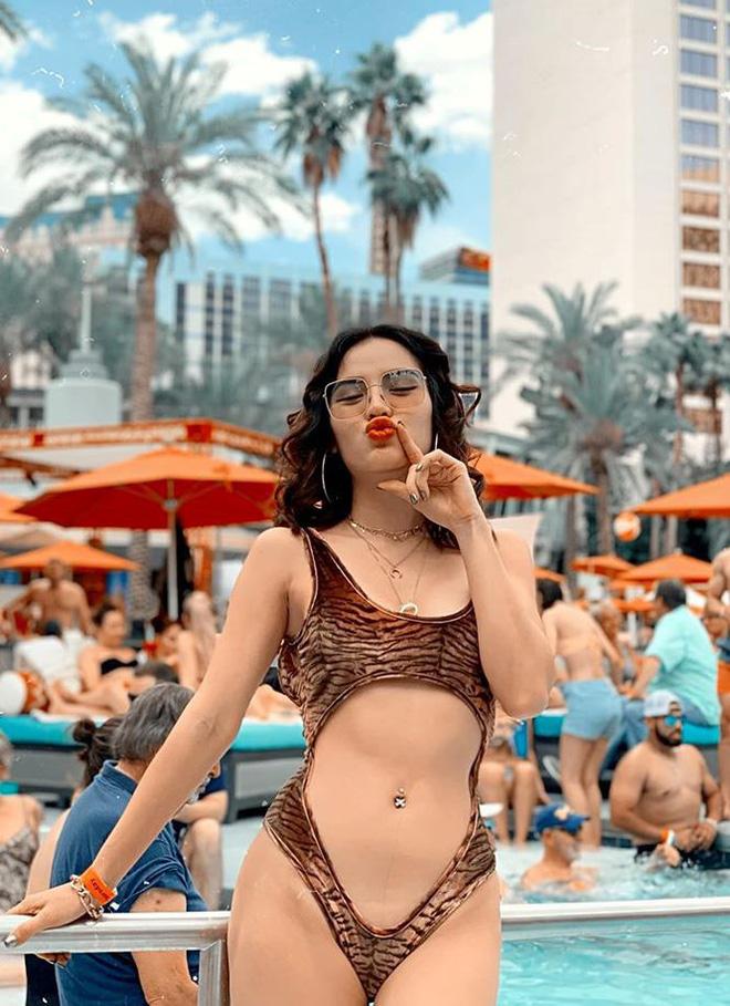 Phương Trinh Jolie tung ảnh bikini khiến cánh mày râu chao đảo - Ảnh 4.