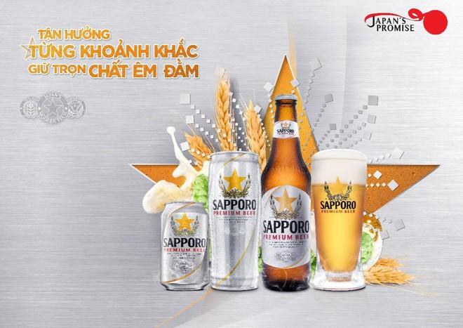 Sapporo: Vị bia êm đằm - Dẫn lối cuộc vui - Ảnh 1.