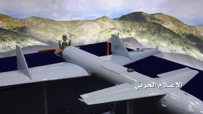 Tên lửa PK Saudi bất ngờ phản đòn sau nhiều ngày im tiếng: 2 máy bay Houthi tan xác - Ảnh 3.
