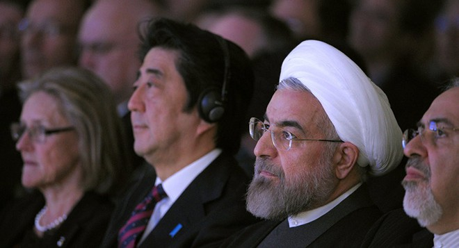 Cố gắng tránh một cú đánh nặng nề, Nhật Bản xông pha phá thế bí giữa Mỹ-Iran: Dễ hay khó? - Ảnh 2.