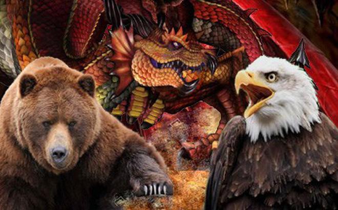 """Quân sự Nga-Trung: Gấu Nga và """"Đảo thế giới"""" có bị nuốt chửng bởi Rồng Trung Quốc?"""