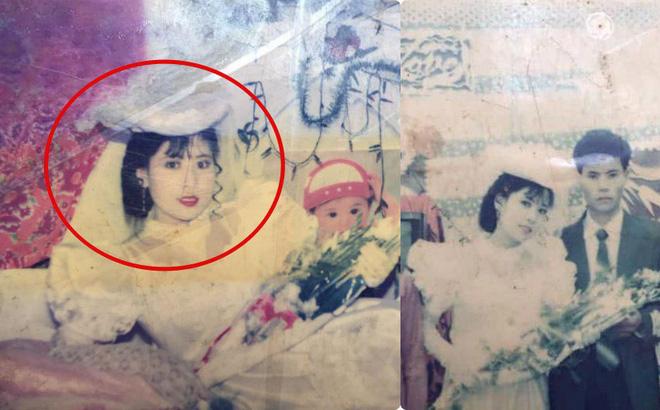 Bức ảnh cưới chụp cách đây 24 năm lộ ra, người mẹ được hâm mộ, ví như Diễm Hương