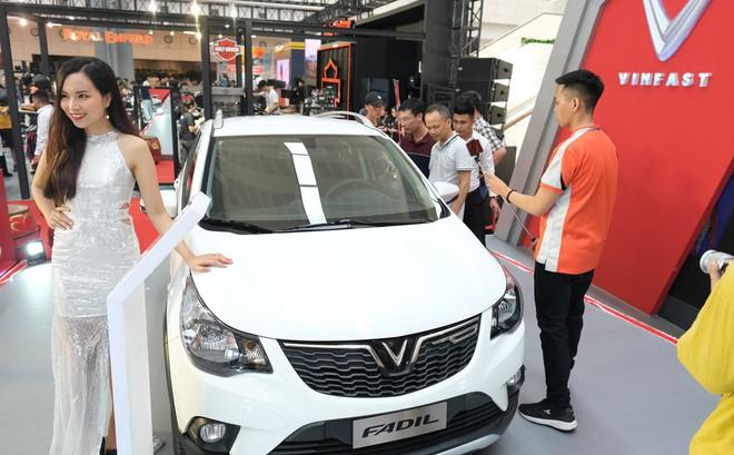 "Loạt ""bom tấn"" Vinfast, Mitsubishi, Triumph hội tụ tại Vietnam AutoExpo 2019"