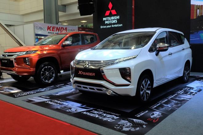 "Loạt ""bom tấn"" Vinfast, Mitsubishi, Triumph hội tụ tại Vietnam AutoExpo 2019 - Ảnh 7."