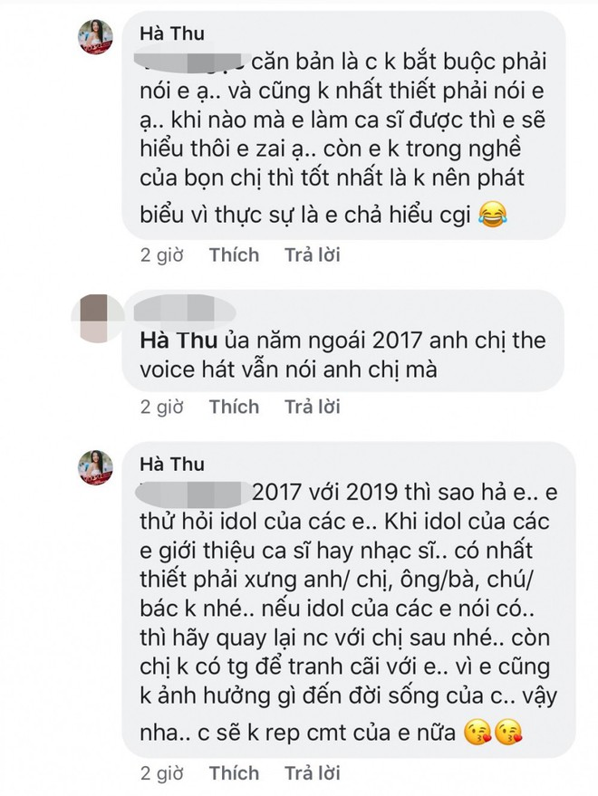 Thí sinh Giọng hát Việt 2019 gây tranh cãi vì thiếu tôn trọng Đông Nhi  - Ảnh 2.