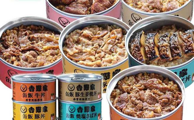 Nhật Bản (lại) có phát minh ẩm thực độc đáo: Cơm đóng lon đầy đủ dinh dưỡng không lo bị đói khi có động đất