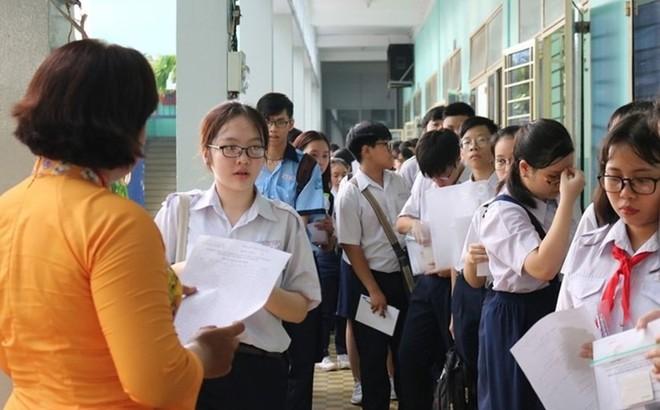 TPHCM: Gần 50% bài thi môn Toán vào lớp 10 dưới điểm 5