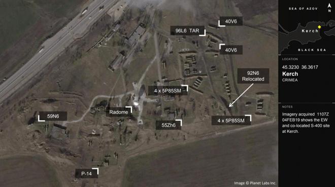 Tình báo Mỹ quan ngại trước phát hiện chấn động về trận địa tên lửa S-400 Nga tại Crimea - Ảnh 2.