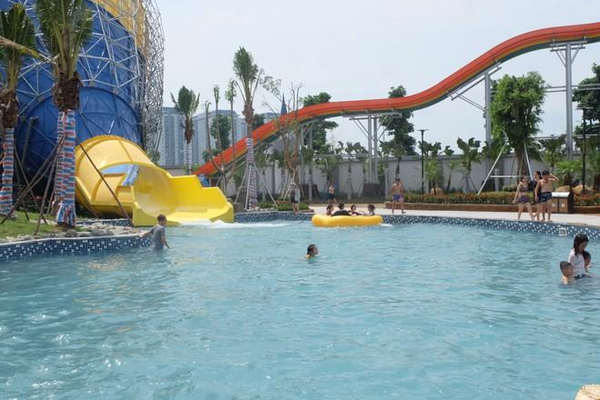 Công viên nước Thanh Hà bất ngờ đóng cửa sau sự cố cháu bé đuối nước - Ảnh 2.