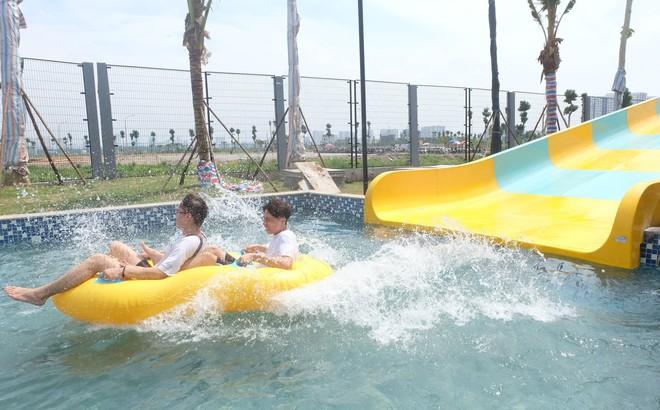 Công viên nước Thanh Hà bất ngờ đóng cửa sau sự cố cháu bé đuối nước