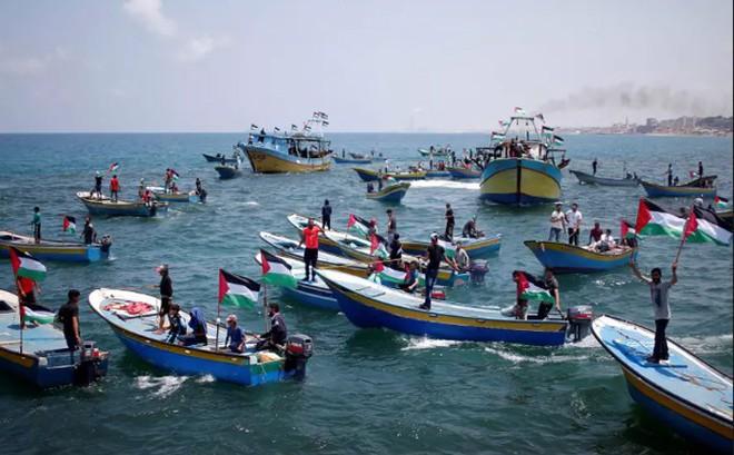Israel áp đặt phong tỏa hải quân khu vực ven biển dải Gaza