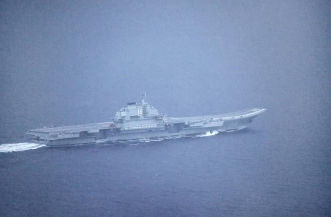Tàu Liêu Ninh lượn lờ làm Nhật lạnh gáy, báo TQ hả hê: Cần gì đem mẫu hạm xử lý tranh chấp! - Ảnh 1.